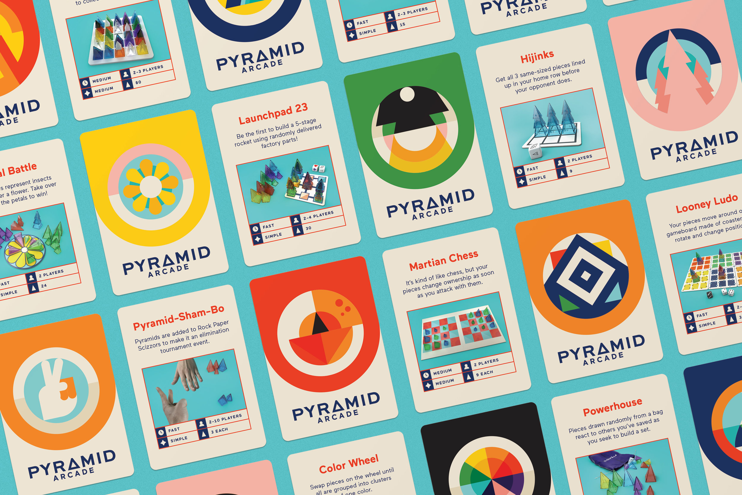 Pyramid Arcade cards