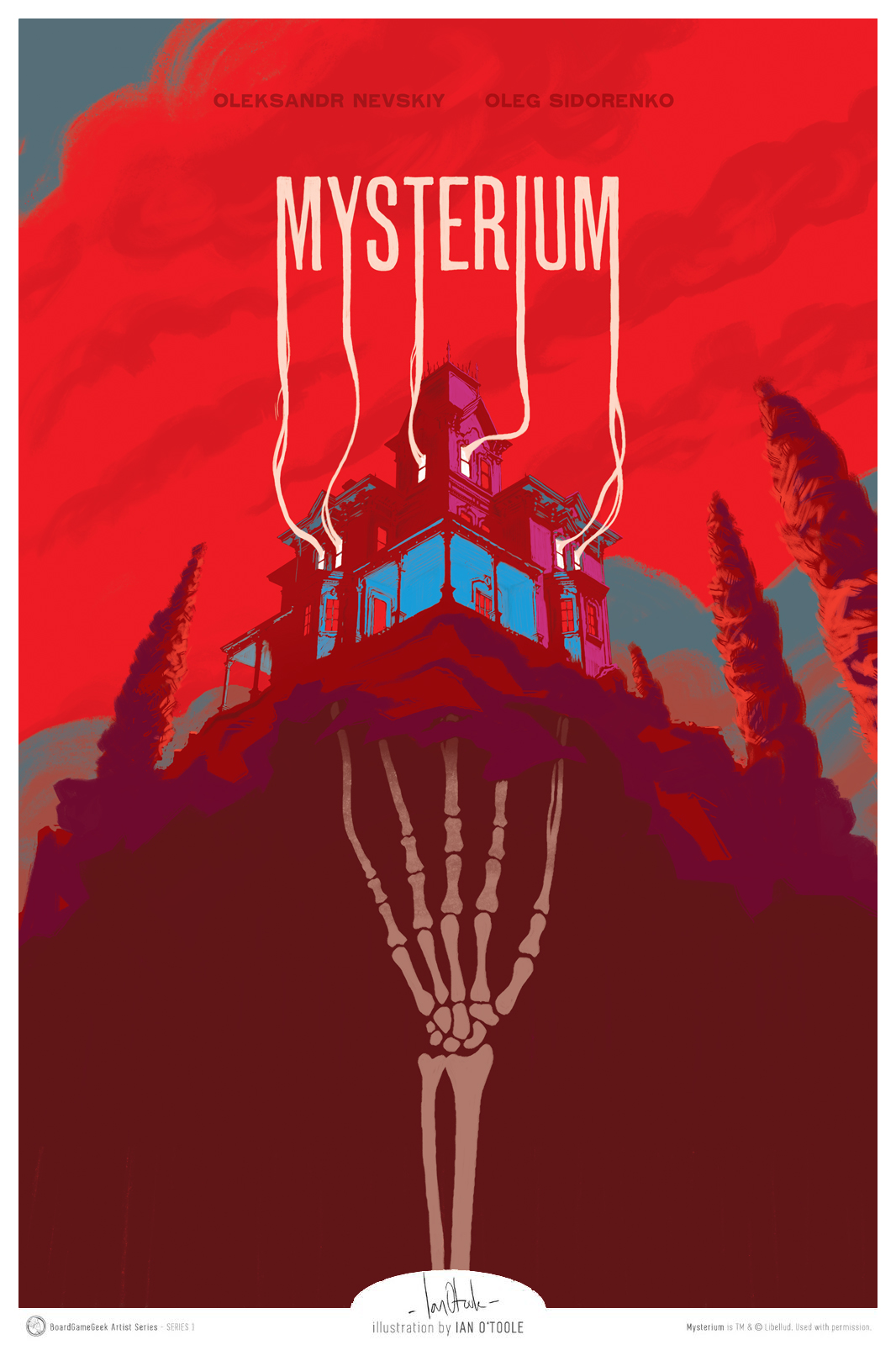 Mysterium Poster - part of the BoardGameGeek Artist Series