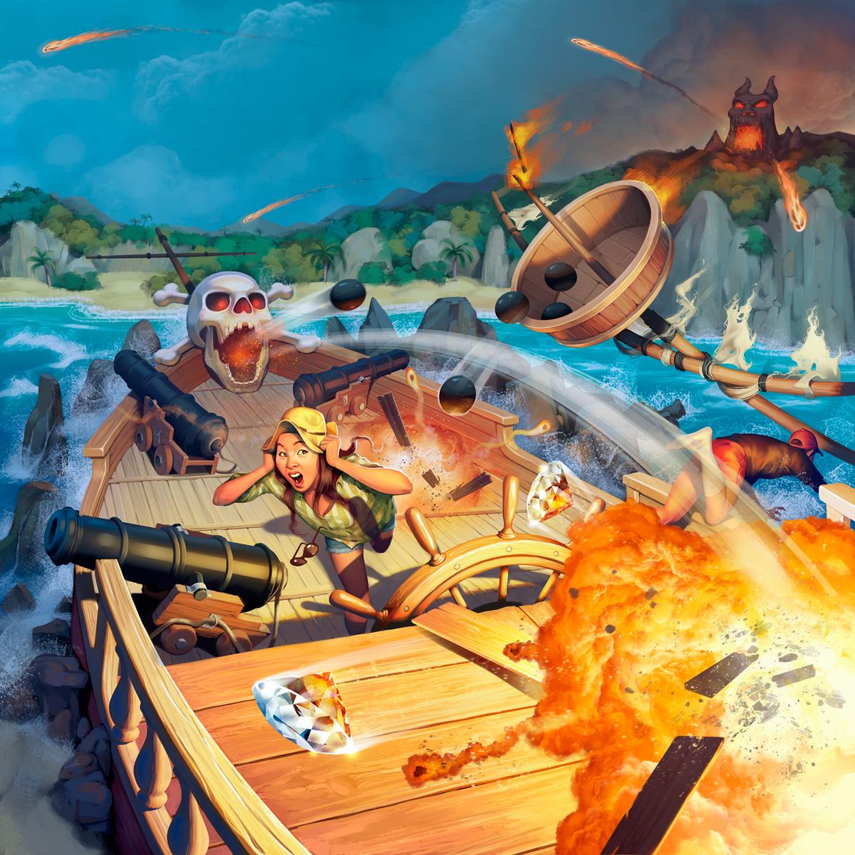 Fireball Island - Crimson Cutlass Expansion box art