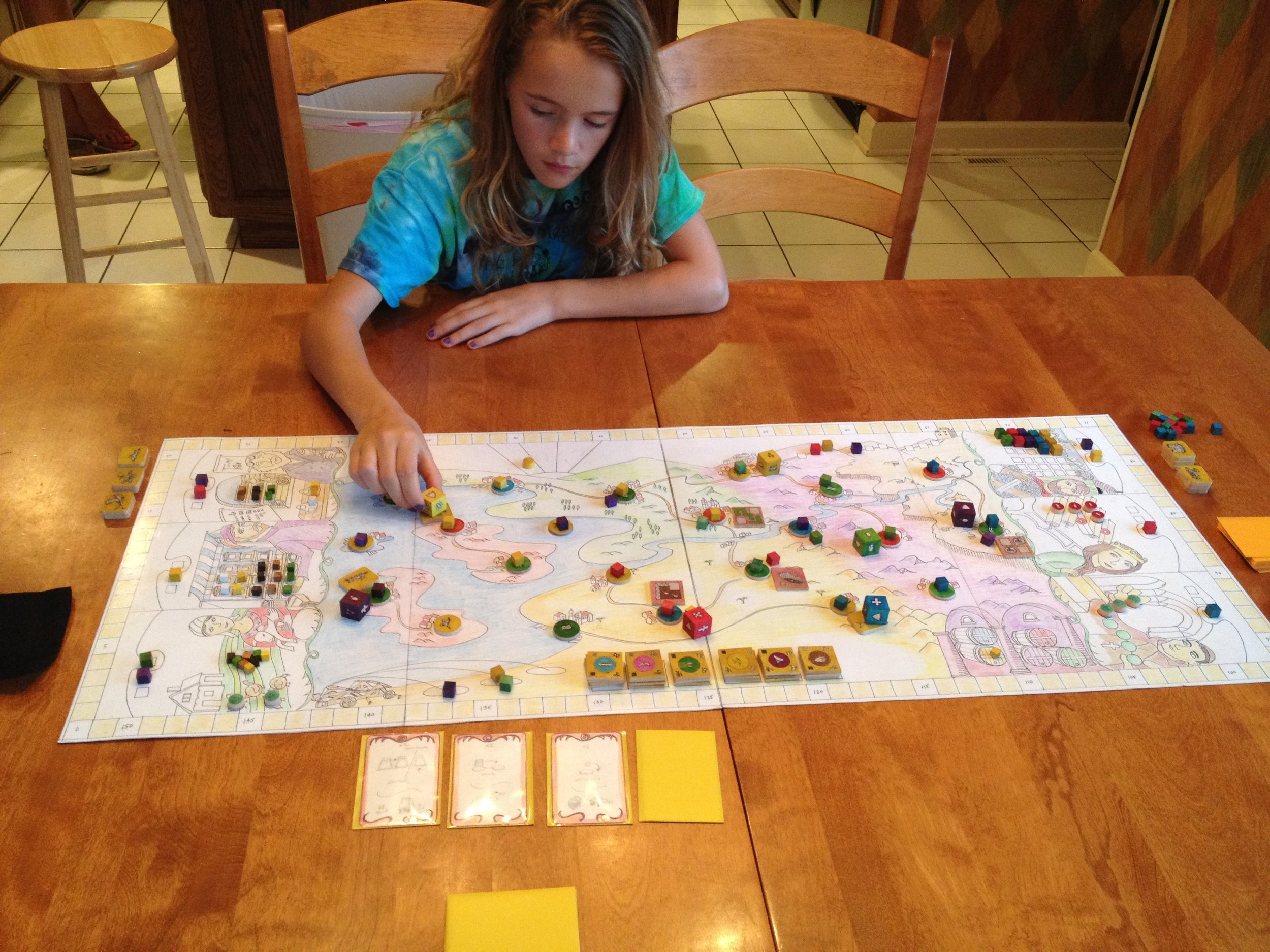 Mark's Daughter playtesting Feudum