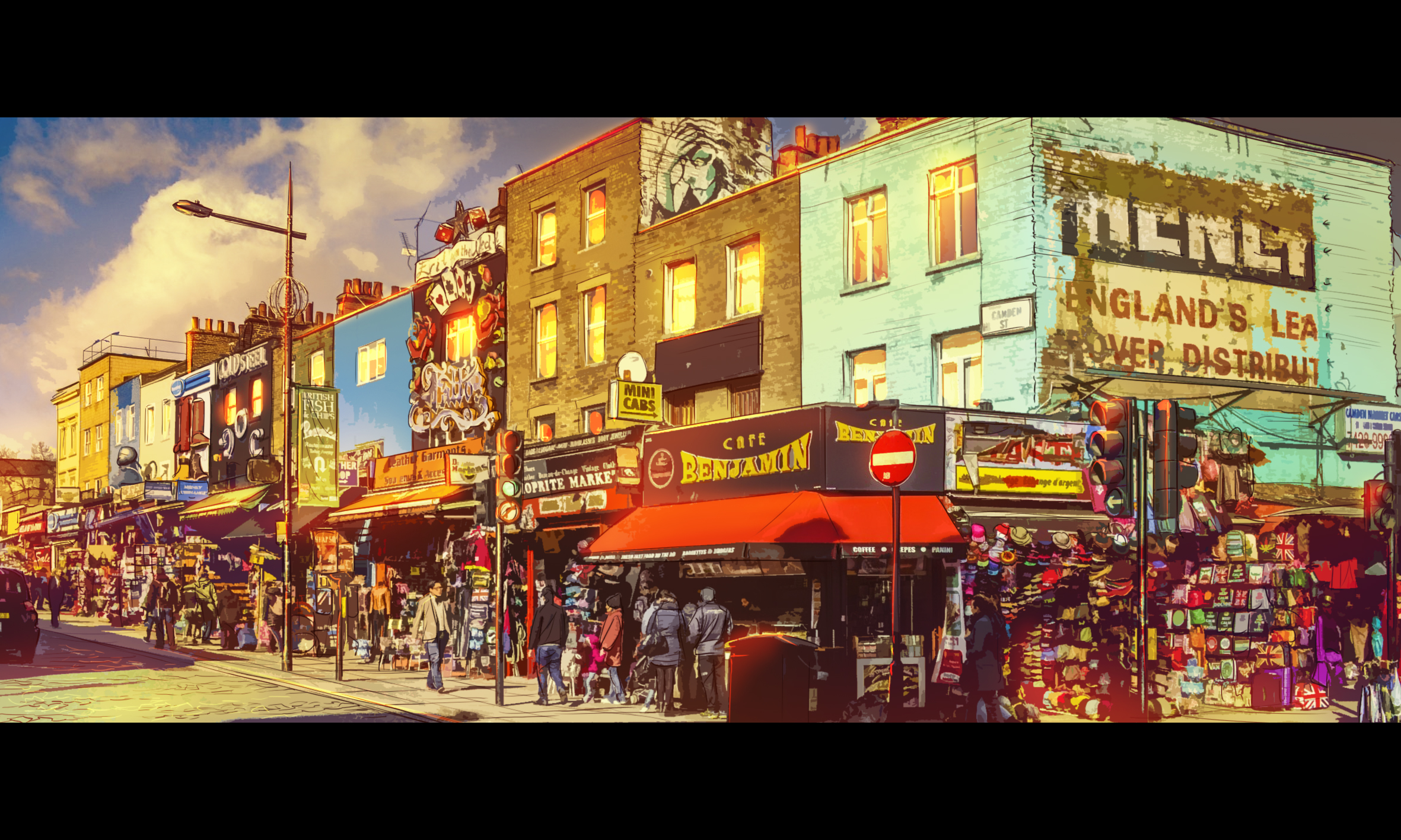 Chronicles of Crime Location - Camden Town
