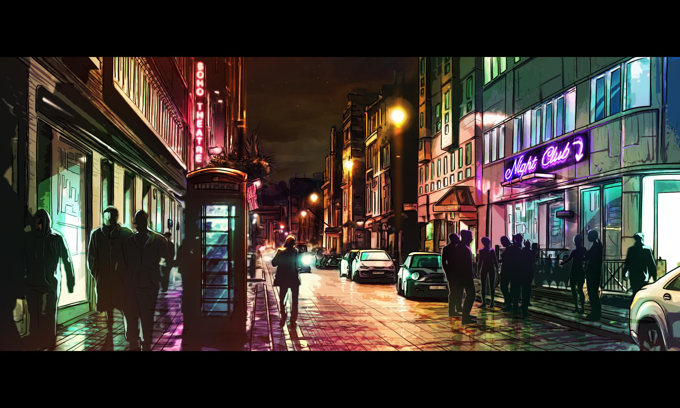 Chronicles of Crime Location - Soho