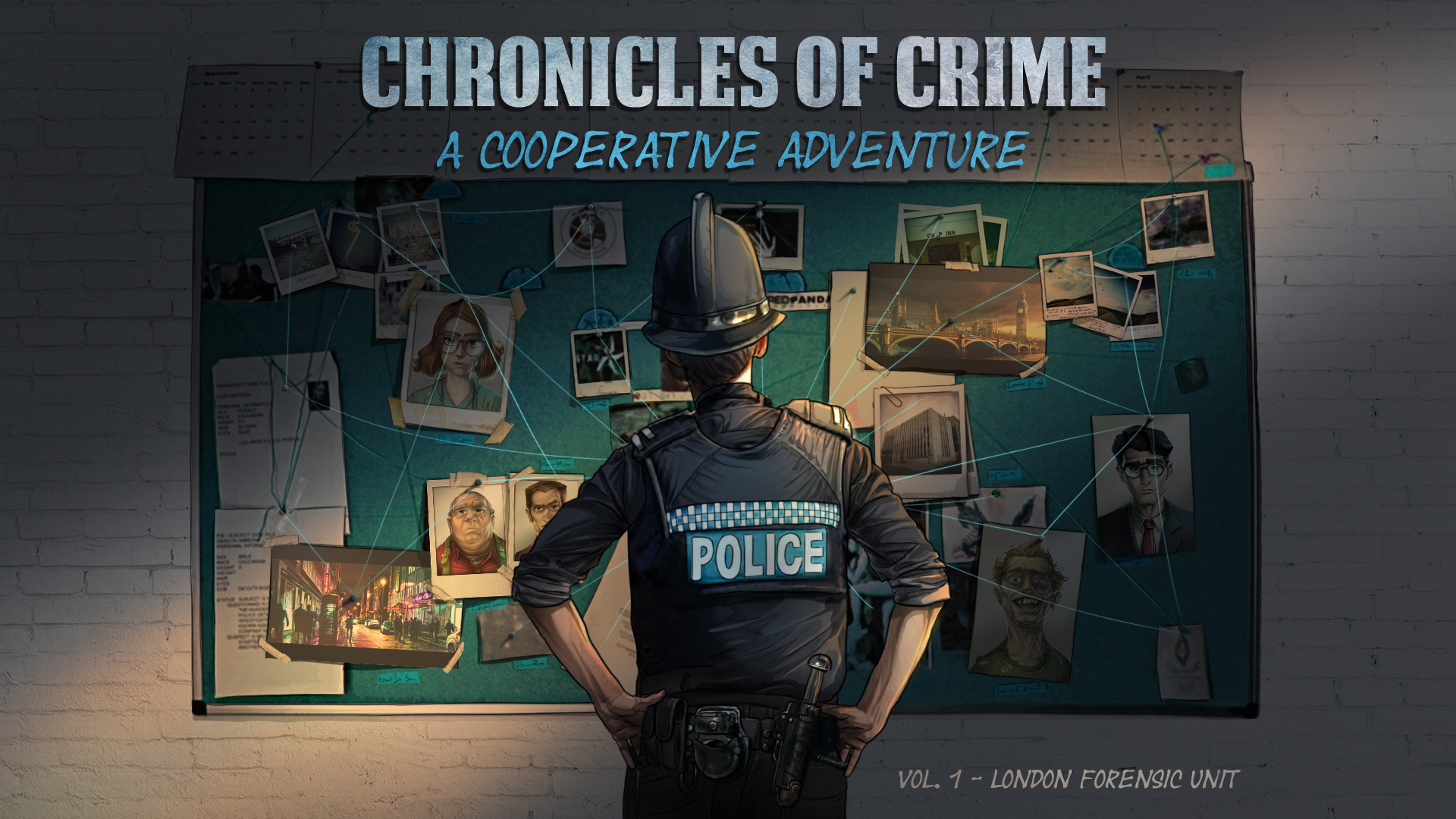 Chronicles of Crime - Draft box cover