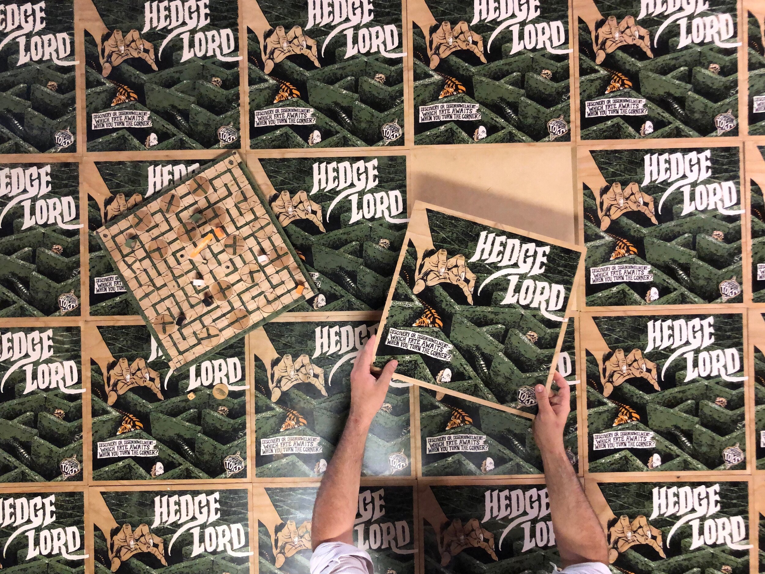 Hedge Lord - Grid of game lids