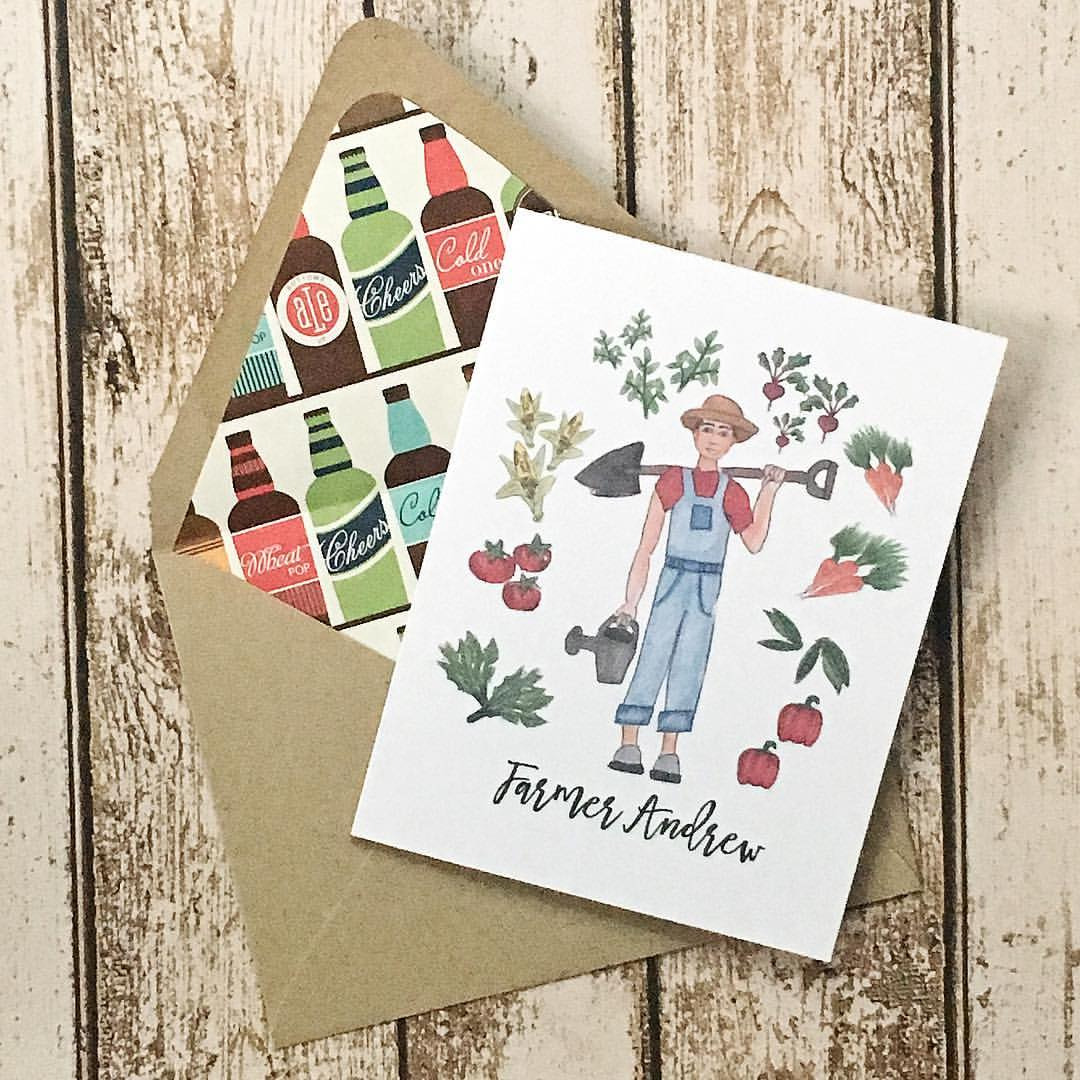 Happy Birthday @ajansen7 Hope it's bountiful 😘  .  .  .  #denimandinkdesign #flashesofdelight #illustration   #copic #copicmarkers #sketchbook #sketchaday #thatsdarling #drawing #denimandinkcards #birthday #card #papercrafts #snailmail