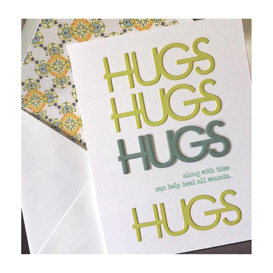 Sending hugs to Tracy as she copes with the loss of her dog. #diy #denimandinkcards #papercrafts #papertreyink #cards