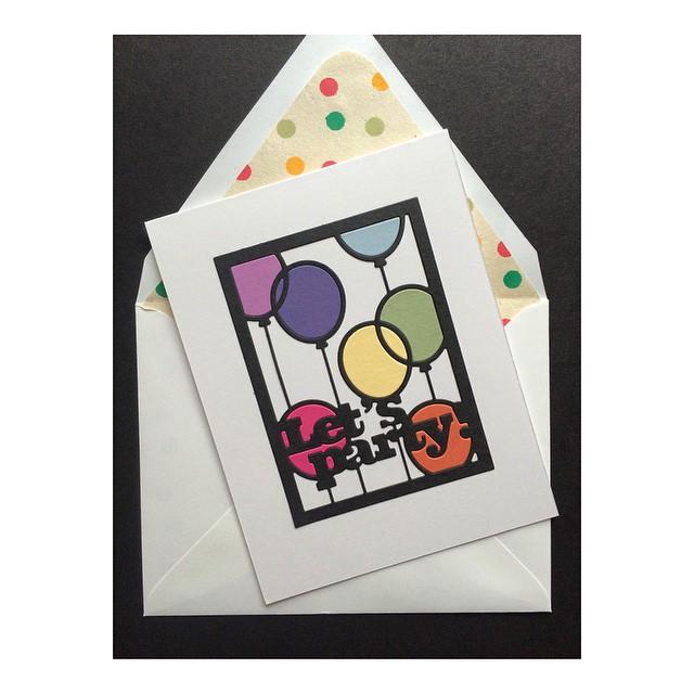 Happiest of birthdays triple G @g3minneapolis #papercrafts #denimandinkcards #diy #cards #papertreyink