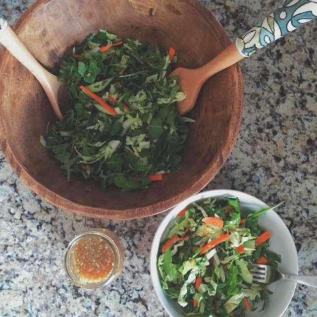 Summer in a bowl- Lee's Chopped Vietnamese salad from @gwynethpaltrow #itsallgood