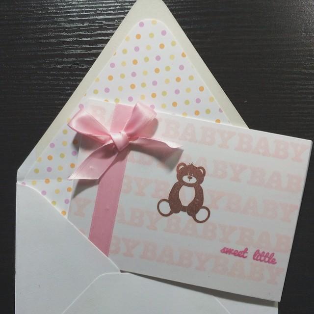 Sweet little baby #diy #papercrafts #papertreyink #denimandink