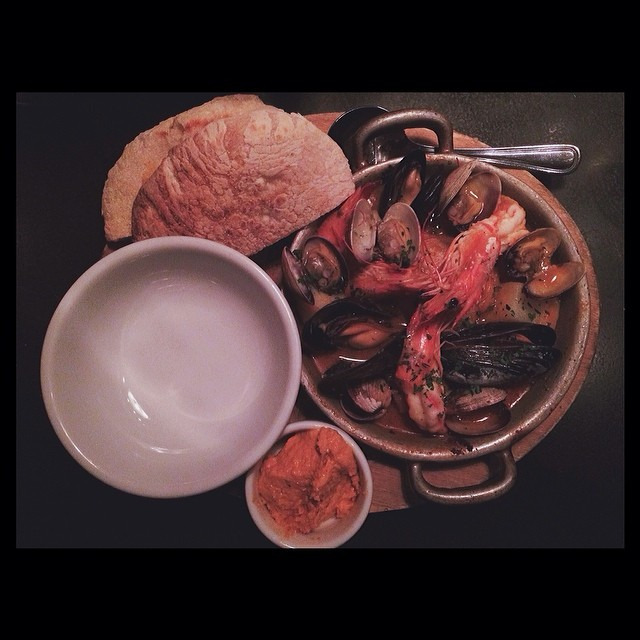 You guys! Bouillabaisse is on the menu @sparksmpls #sogood #gogetsome