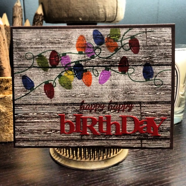 Couldn't give them both the same card! #diy #papercrafts #birthday