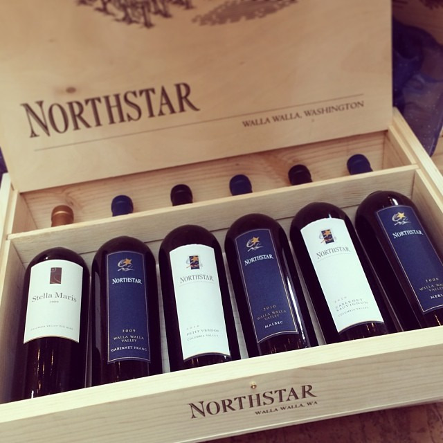 Our favorite from the day @northstarwinery #wallawalla #winetasting