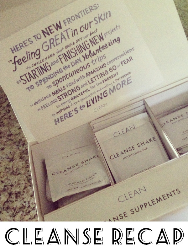 """Well. I did it. I successfully completed the  Clean Cleanse  21 day program. And it was amazing. I have to admit, now that I've been off of it for one week now, I kind of miss it. I experimented with the shakes, found my favorite ones - """"cinnamon rolls for breakfast"""" anyone?!? - and kicked my sugar habit. Seriously. I can't begin to rave enough about this cleanse.   The first few days were tough, I'm not going to lie, but once I got past day 3, it was easy. The hardest part for me was when I had friends who invited me to happy hour or a party and I had to drink water. That wasn't hard, it was the fact that I had to explain why I was only drinking water. Then the conversation would turn to why I was doing this, what I hoped to gain, that I was plain crazy to do this. You get the idea. But I stuck to it. I felt too good not to. For the first time in a long time, I actually felt good.   The cleanse had the following effects on me:     Sleep. I haven't had a decent sleep in I don't know how long. I'd wake up in the middle of the night and lay staring at the ceiling for sometimes two hours- for no reason. Now, I'm sleeping soundly and waking up refreshed.     Energy. It was typical for me to hit a major energy slump in the middle of the day. My team at work can tell you how I hit the candy bowl hard around 3. EVERY DAY! But on the cleanse, I didn't need anything. I had stable energy the whole day     Glowing skin. Friends noticed and commented. I didn't have dry, flaky spots. Just clean, clear skin.     Clear head. I think and focus better. Prior to cleansing, there were times when I couldn't focus or concentrate to save my life. Really, it was getting annoying. Now that's gone.     Leaner. I didn't weigh myself at the beginning, but my clothes are looser and I feel lighter. Who doesn't like that?      I could go on and on- you'd think they paid me to say this (I wish!). Bottom line, I loved this cleanse. I've even been trying to get my parents to do it. If you want to g"""