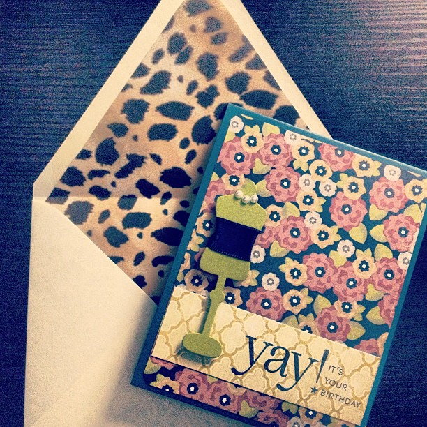 Impromptu Sunday night creativity #diy #papercrafts