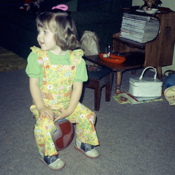 #TBT so glad overalls keep coming back into my life- this will be round 4! #throwbackthursday