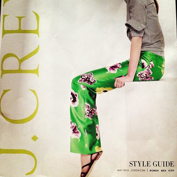 Crushing on the pants from @jcrew #jcrewaddict