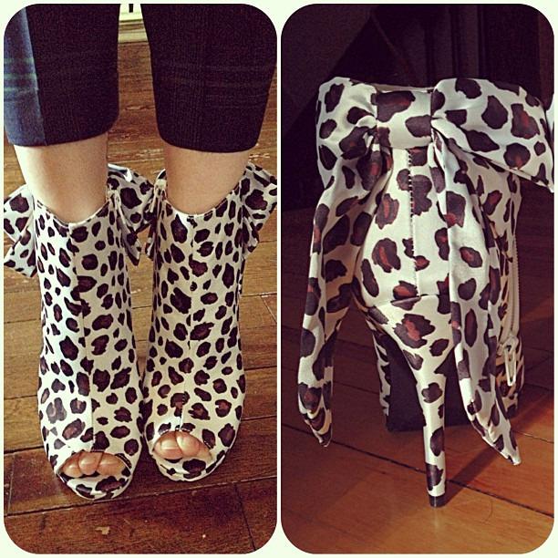 They finally arrived! My #KateYoungforTarget booties! #targetdoesitagain #targetstyle