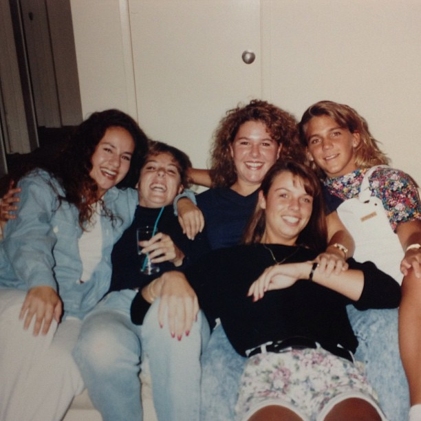 The college gang - can you guess the year? #throwbackthursday #tbt #girlfriendsforlife