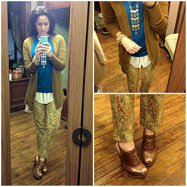 {dress} paisley pop #ootd #wiw #personalstyle