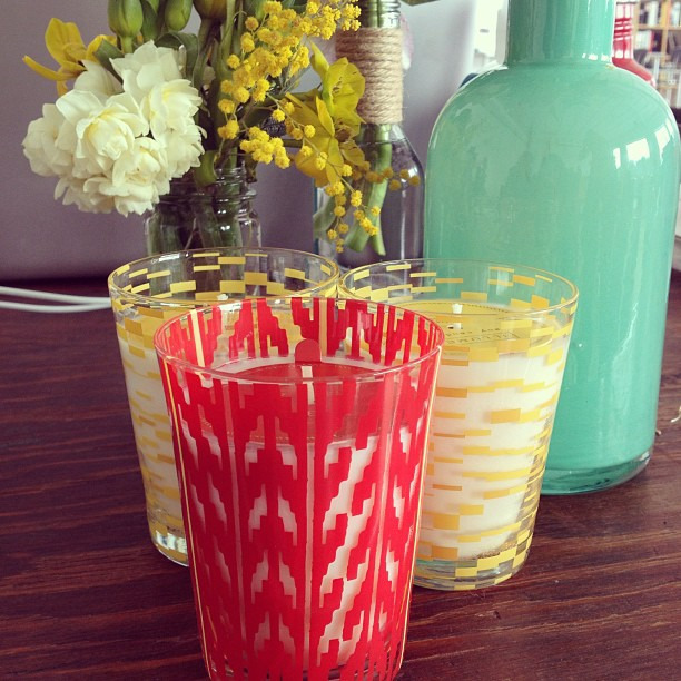 How cute are these @illume candles at #blogshopmpls #adore