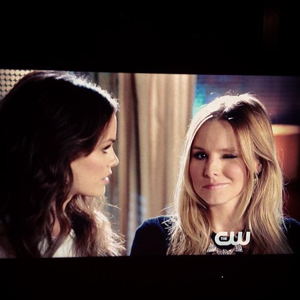 Best cameos ever! #gg #gossipgirl #love #kristenbell #rachelbilson #seriesfinale #latergram
