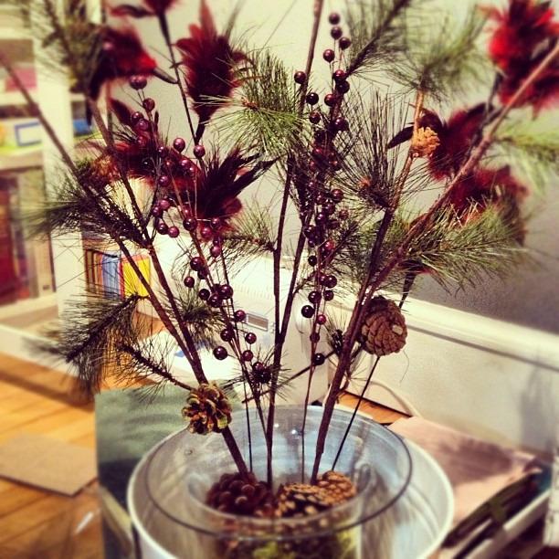Tonight's project so I can decorate tomorrow #holidayspirit #diy #holidaydecor