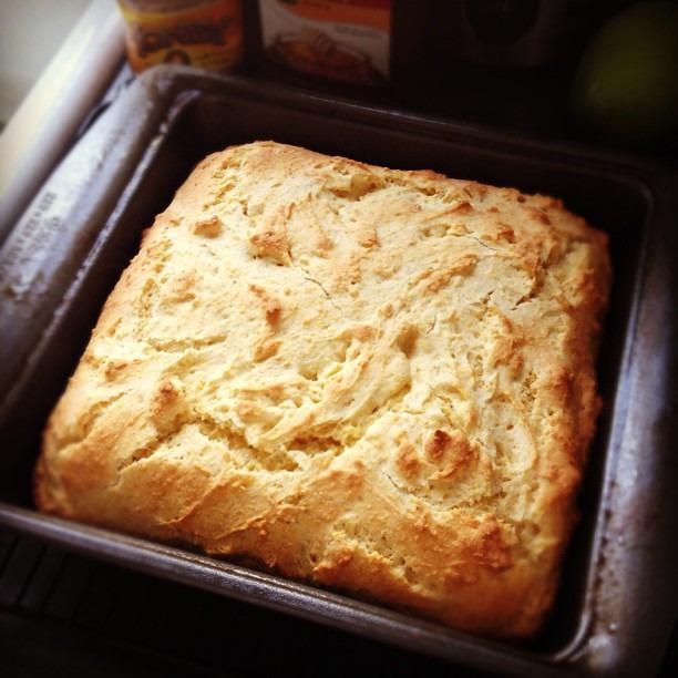 Love the smell of fresh baked cornbread #glutenfree