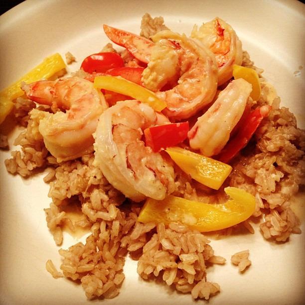 Mmm coconut shrimp #nomnom #healthy #healthycooking #dinner #foodporn