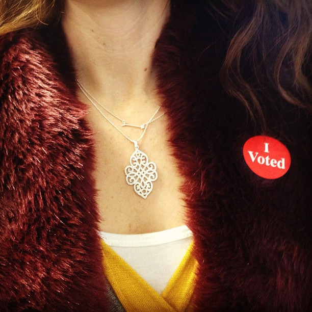 The best accessory you can wear today #ivoted #voteno #stelladot
