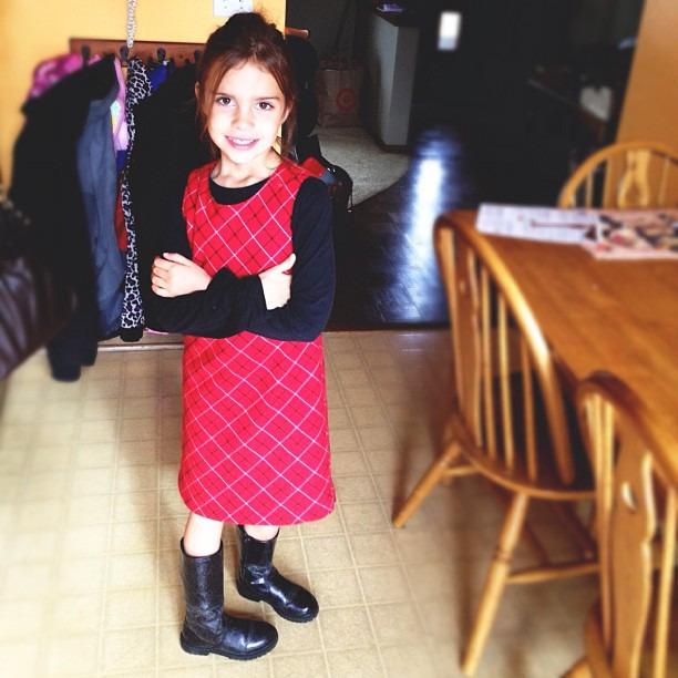 One of my favorite girls-Leah #futurefashionblogger #kidsgotstyle #dailyleah