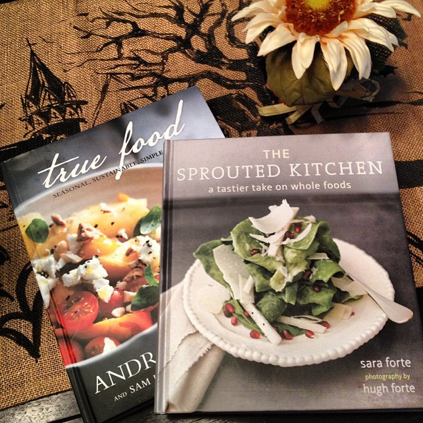 Menu planning with help from @sproutedkitchen and @drweil #wholefoods #healthycooking #goodfood