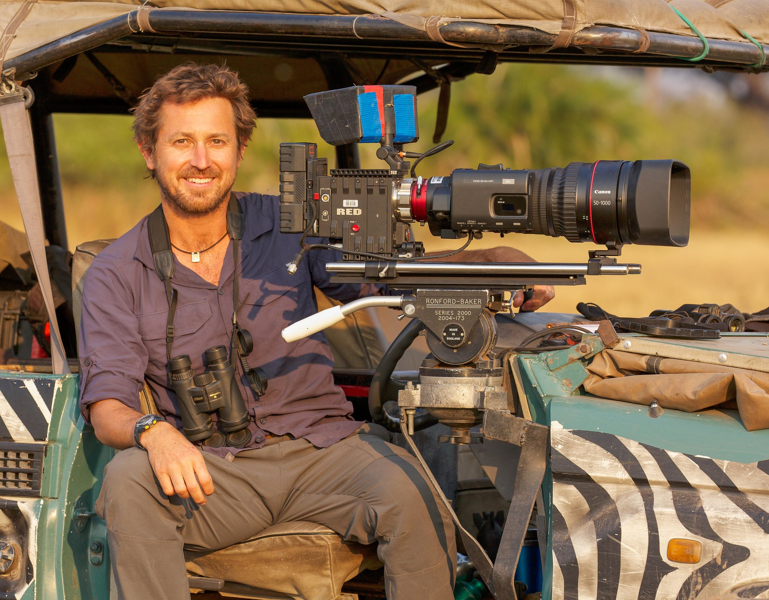Meet: Chadden Hunter - Australian wildlife biologist and filmmaker Chadden Hunter has a PhD in gelada baboons in Ethiopia and worked with National Geographic, Discovery Channel and the BBC's Planet Earth series.Twitter, Instagram