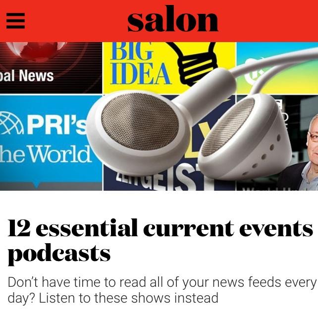 #3 on Salon.com's List