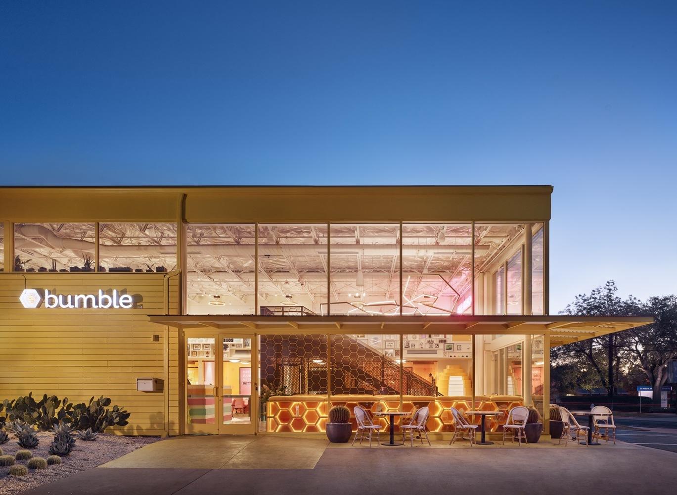 Bumble HQ, Architecture Digest