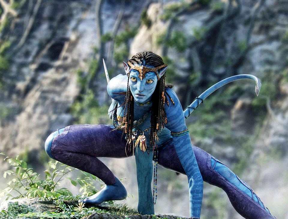 Neytiri from the Avatar film