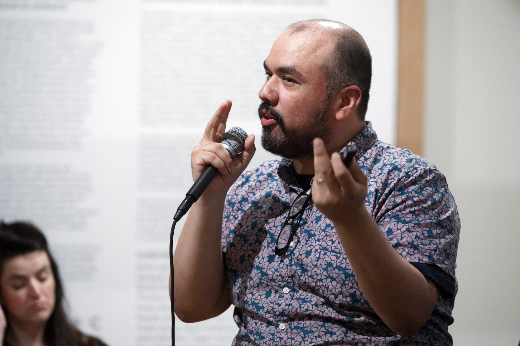 Symposium, Teacher as conceptual artist