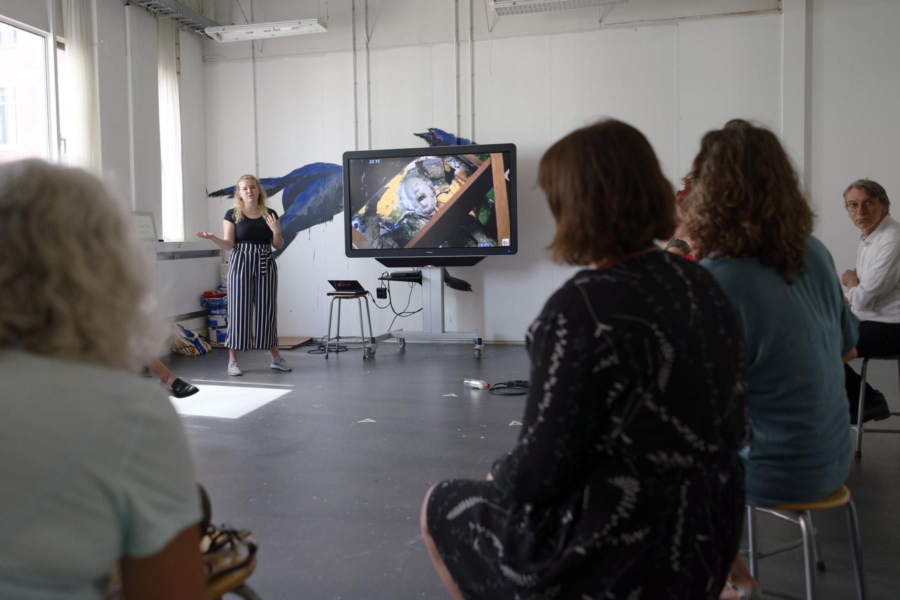 Teaching-artist led workshop, Milou