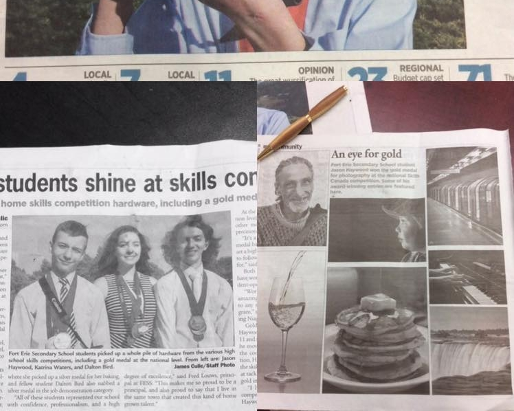 Fort Erie Students Shine At Skills Competition (Print) - June 22, 2016 - Niagara This Week