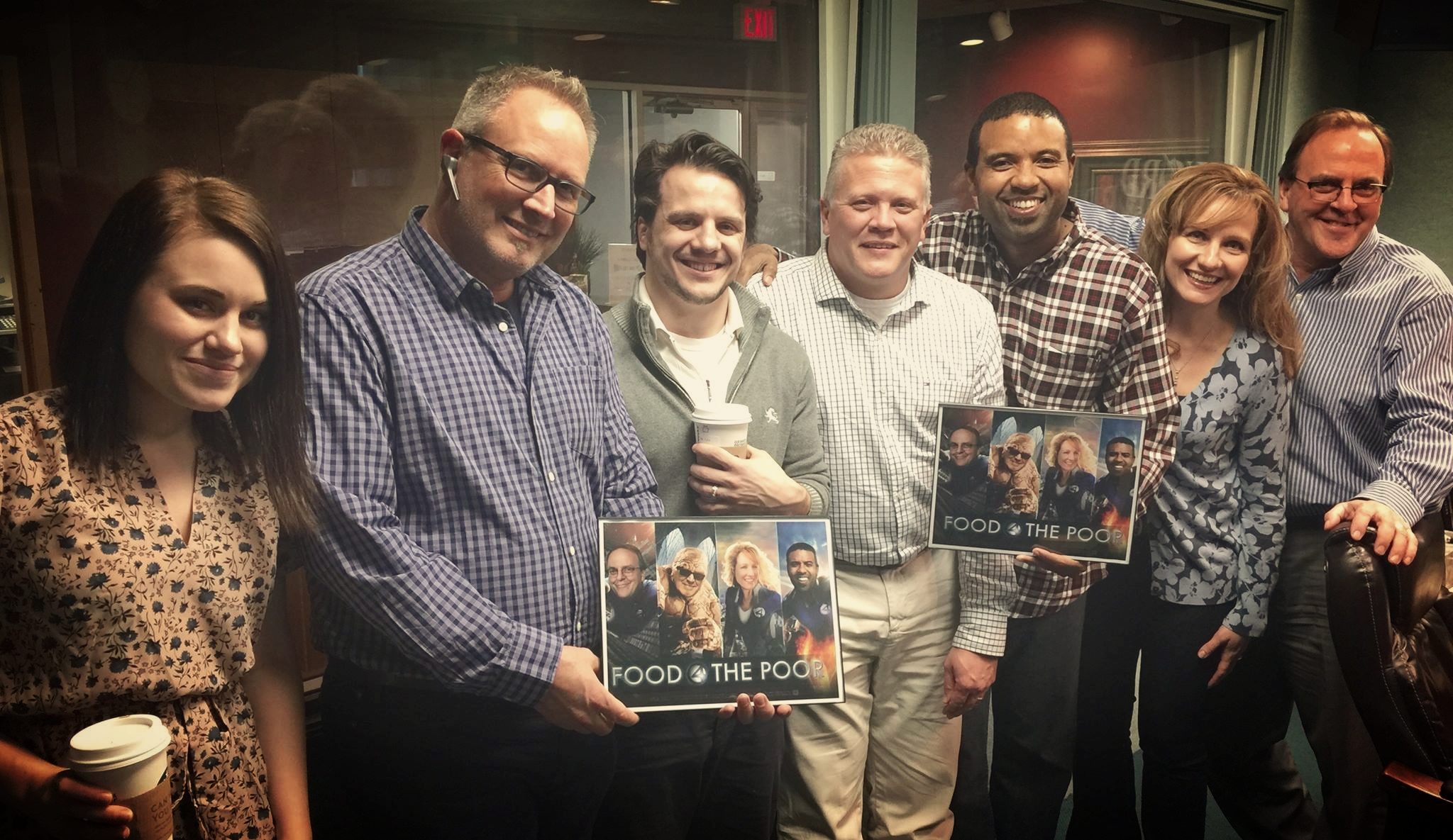 with Todd Chatman & Paul Jacobs from Food for the Poor, plus David Pienaar and Tom Lemmon, WORDfm (2015)