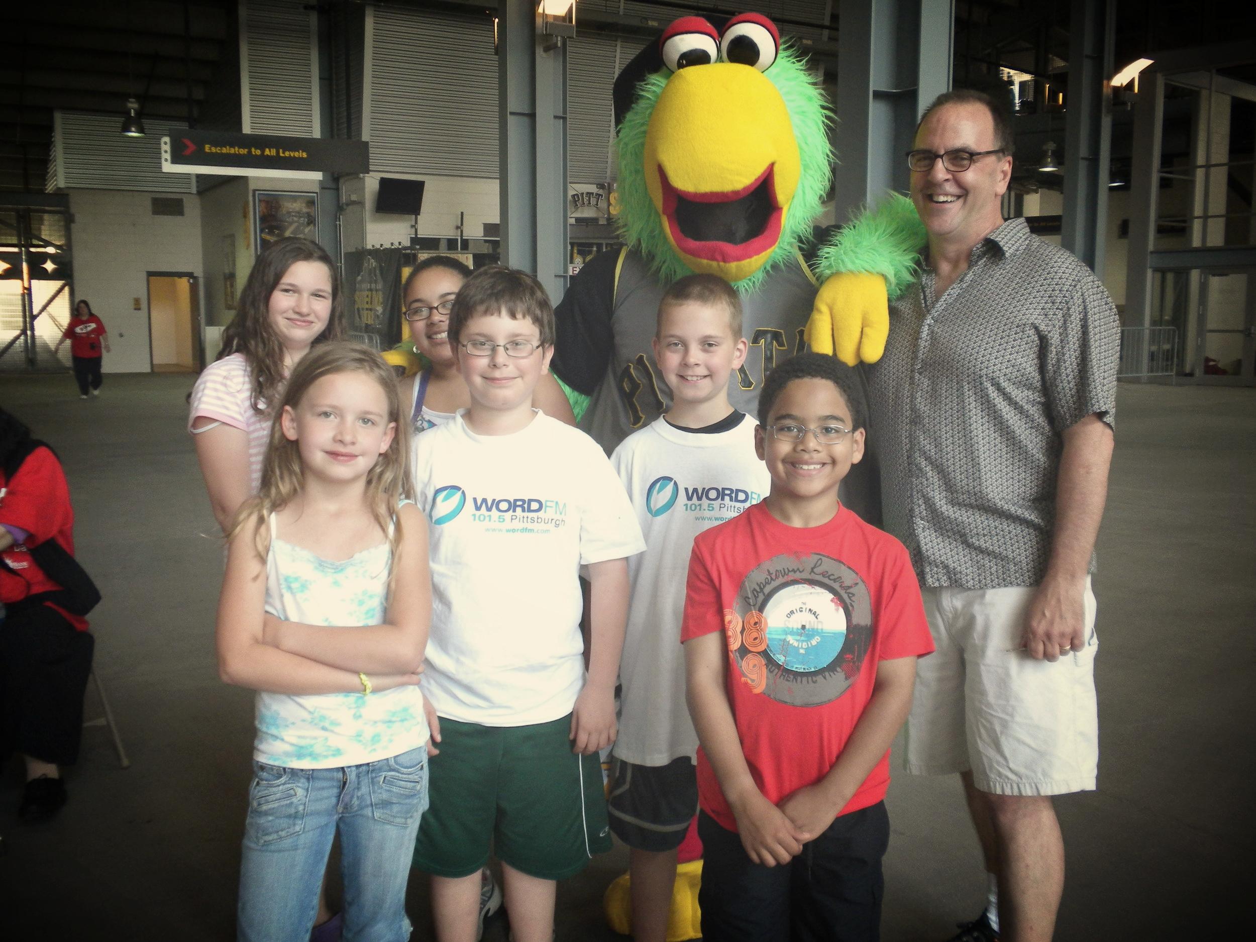John & the kids & the Parrot (2010)