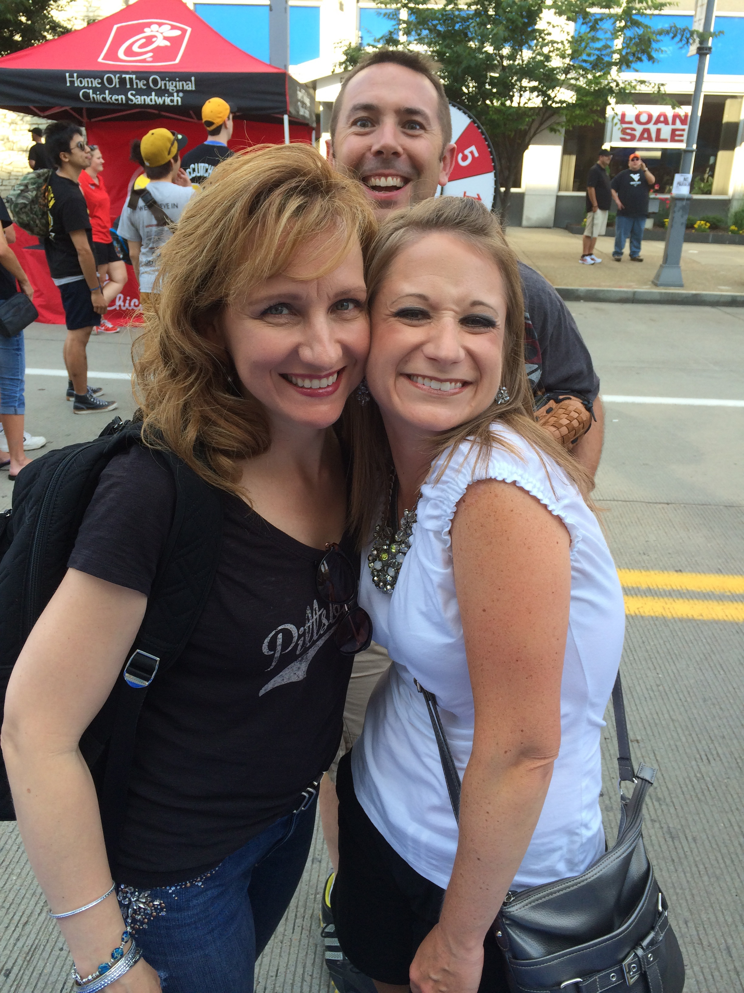 with WORDfm's Shelly Balbach, Faith Night (2015)