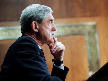 Special counsel Robert Mueller finished his investigation into the 2016 presidential election Friday.  JAMES BERGLIE/ALAMY