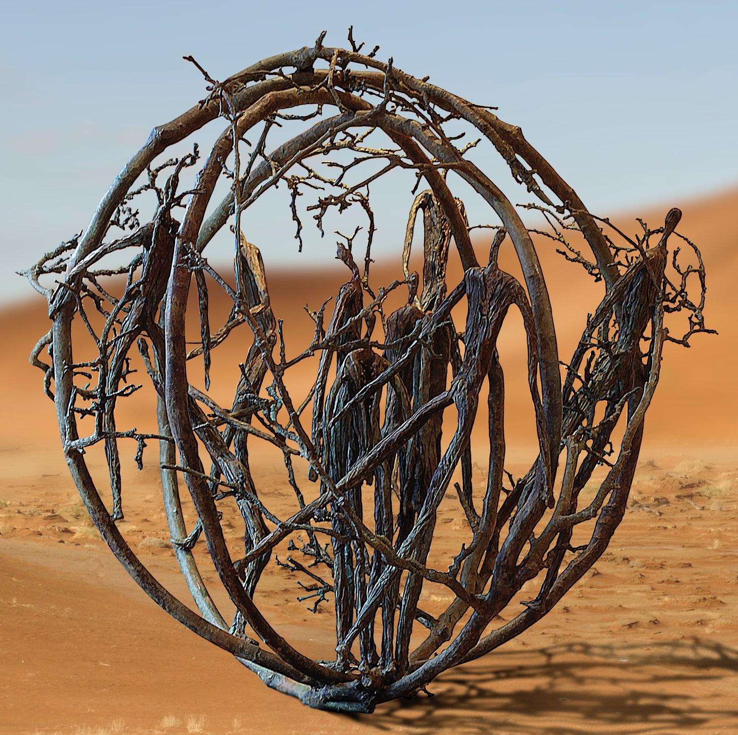 Jill Berelowitz - Tumbleweed off plinth-2-min.jpg