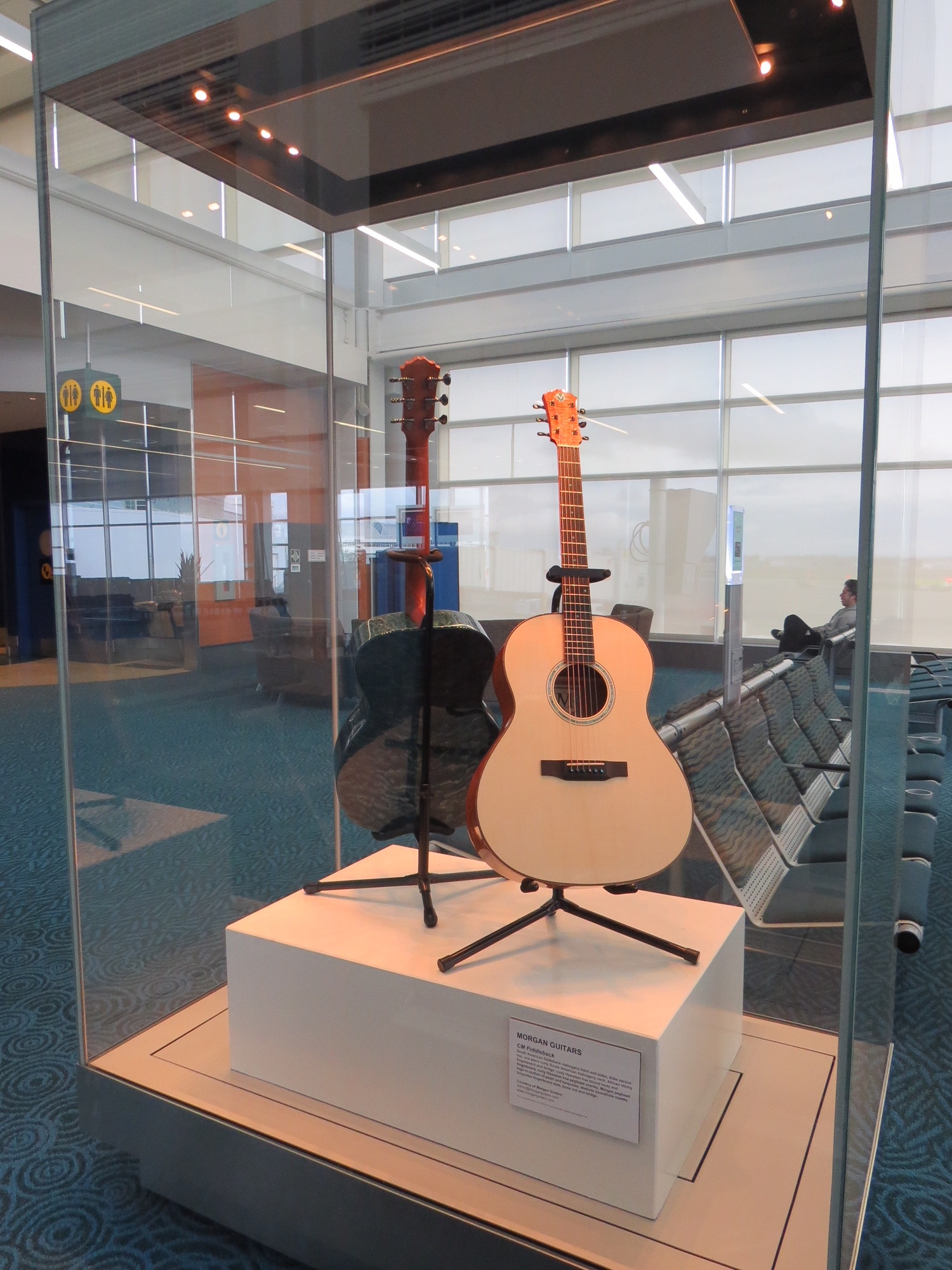 The story of Morgan Guitars is an international tale—it is only fitting that they be viewed in an international setting such as YVR.
