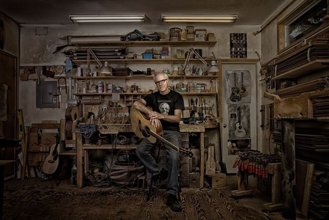 I don't have many shots of me in my shop. This one was taken couple years ago by north vancouver artist Richard Paris. #stuff