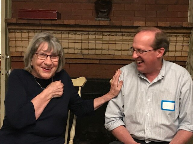 Patricia Lee Gauch and Gary Schmidt