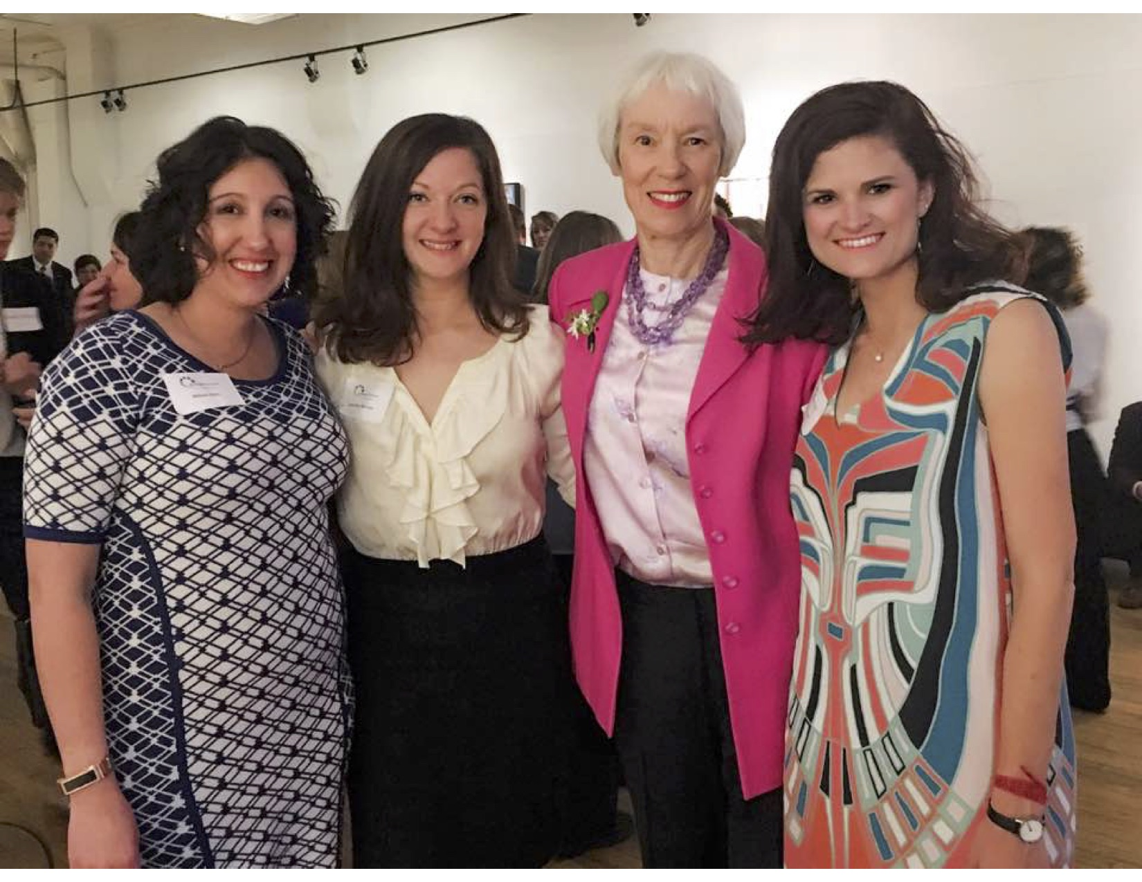 From Left: Allison Hiltz, Jennifer Benson, Gail Schoettler, and Jordan Henry