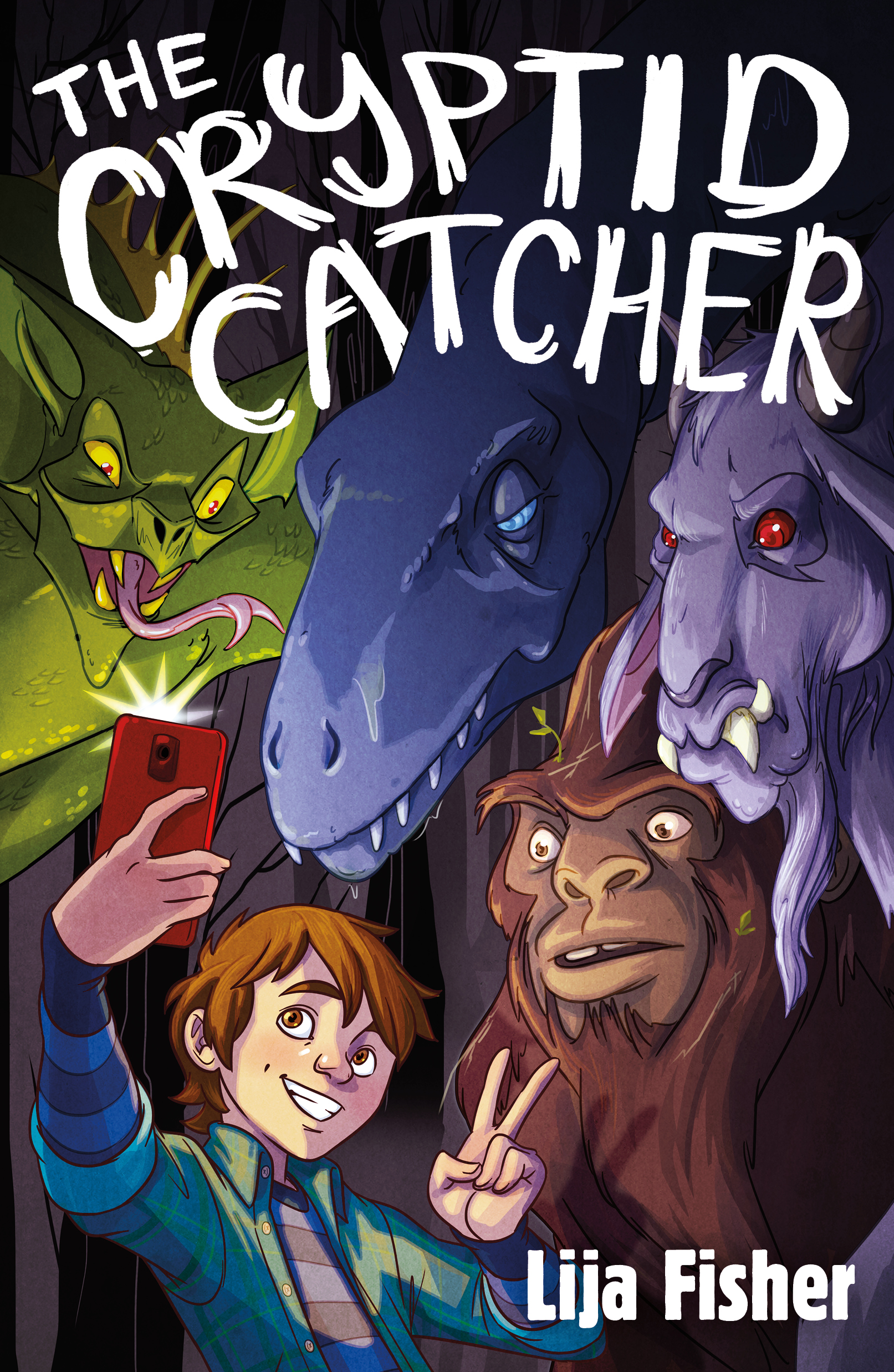 The Cryptid Catcher , Lija Fisher  For Farrar, Straus and Giroux BYR. Illustration by  Lisa K. Weber .