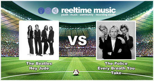 Match Report - A tight and cagey affair for most of the game had The Police taking a slight advantage however you can never rule out the Fab Four, with 55% of the vote, The Beatles rallied and progress to the Quarter Finals