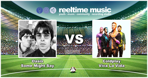 Match Report - The Battle of Britpop 2 only looked like having 1 winner, the Gallagher's first number 1 single was far too strong, strolling into the next round with 61% of the vote